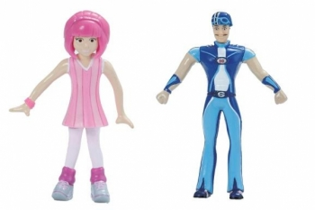 FIGURINE MODELABILE LAZY TOWN